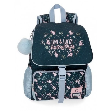 Mochila 37 cm. adaptable + MP3 Enso Love & Lucky