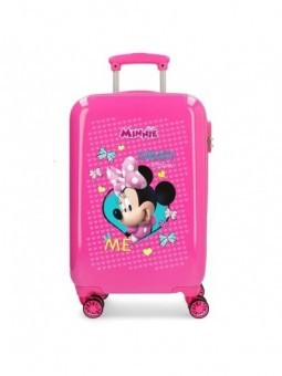 Maleta cabina dura Minnie Happy Helpers
