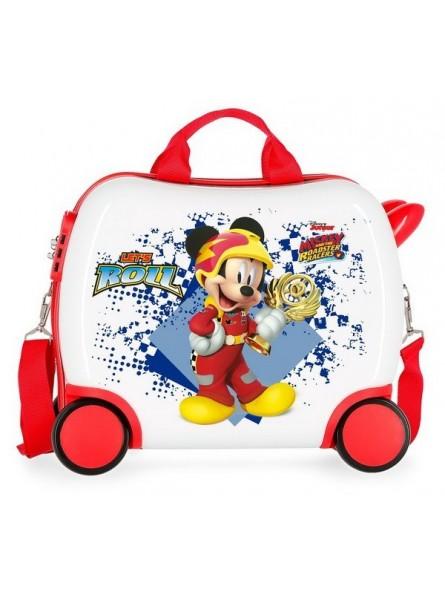 Maleta correpasillos Disney Mickey Joy mediana
