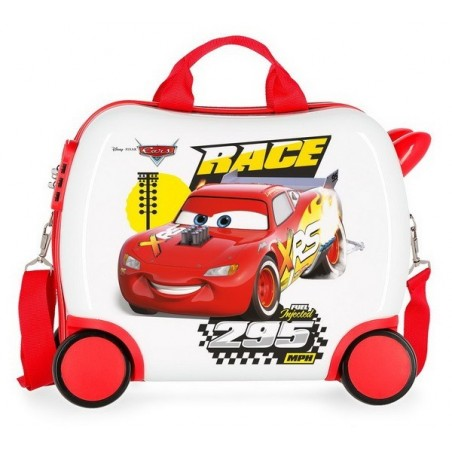 Maleta correpasillos Disney Cars Joy mediana