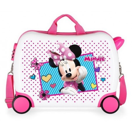 Maleta correpasillos Disney Minnie Joy grande