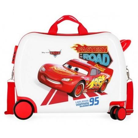 Maleta correpasillos Disney Cars Good Mood grande RG