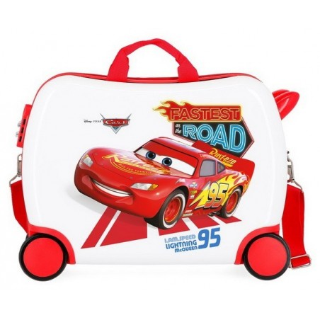Maleta correpasillos Disney Cars Good Mood grande