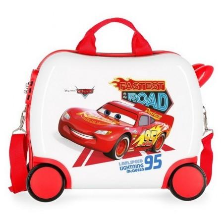 Maleta correpasillos Disney Cars Good Mood mediana