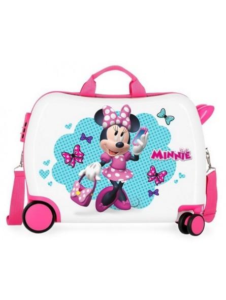 Maleta correpasillos Disney Minnie Good Mood grande RG