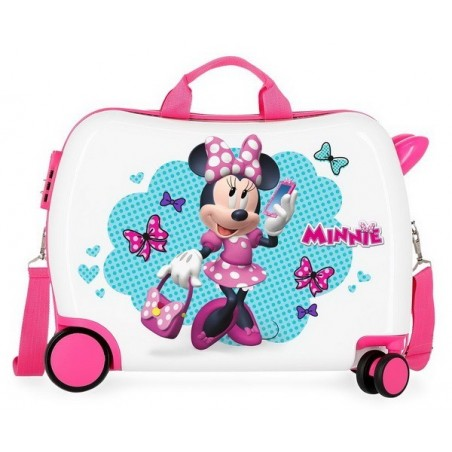 Maleta correpasillos Disney Minnie Good Mood grande RG