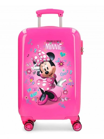 Maleta cabina dura Minnie Stickers