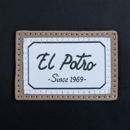 Bolso bandolera El Potro Pipe 5665361 negro
