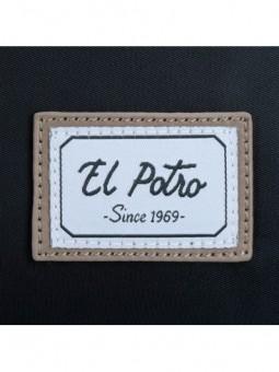 Bolso bandolera El Potro Pipe 5665261 negro