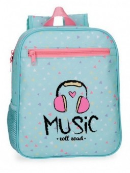 Mochila pequeña adaptable Roll Road Music