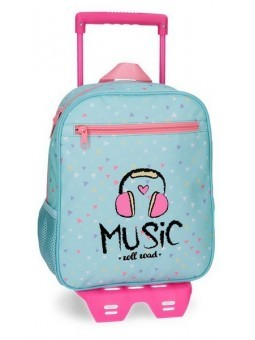 Mochila pequeña con carro Roll Road Music