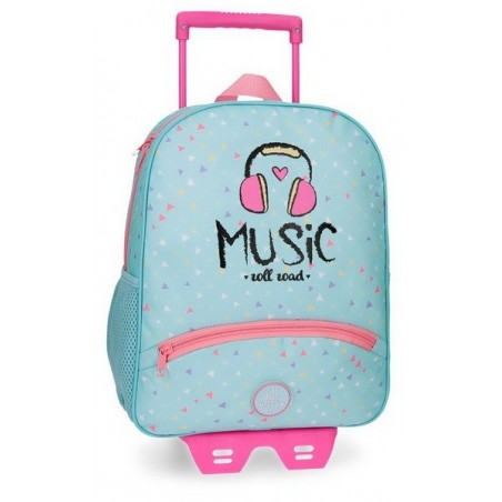 Mochila con carro Roll Road Music