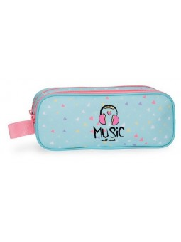 Estuche neceser doble Roll Road Music