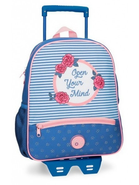 Mochila con carro Roll Road Rose