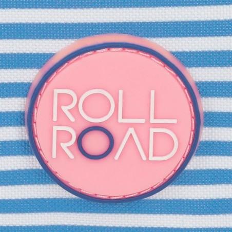 Mochila mediana con carro Roll Road Rose