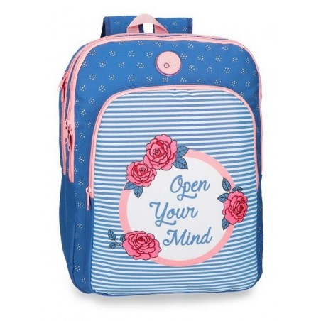 Mochila mediana doble Roll Road Rose