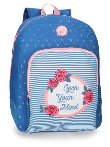 Mochila reforzada adaptable Roll Road Rose
