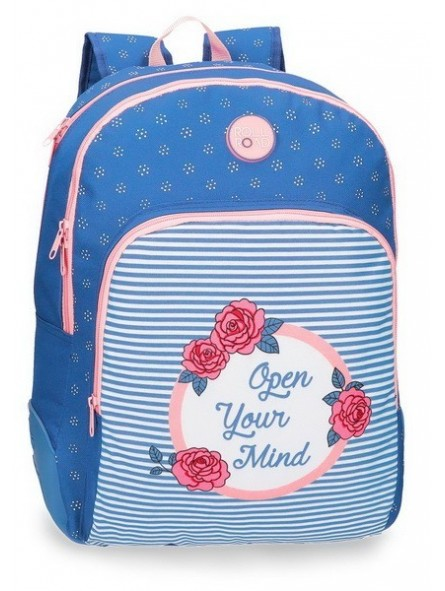 Mochila reforzada doble adaptable Roll Road Rose