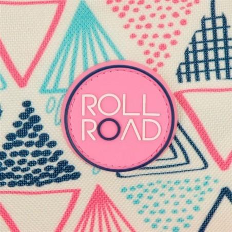 Mochila reforzada doble con carro Roll Road Life