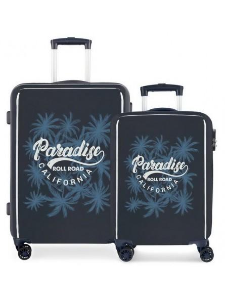 Juego de maletas Roll Road Palm