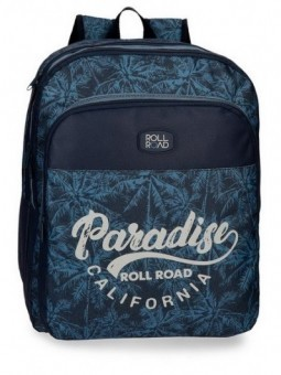 Mochila doble adaptable Roll Road Palm