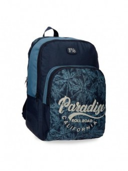 Mochila doble reforzada Roll Road Palm