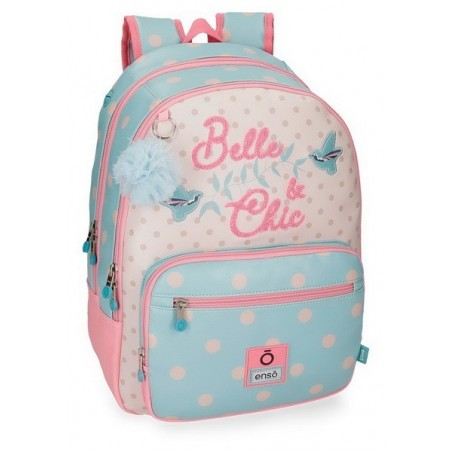 Mochila doble adaptable Enso Belle and Chic
