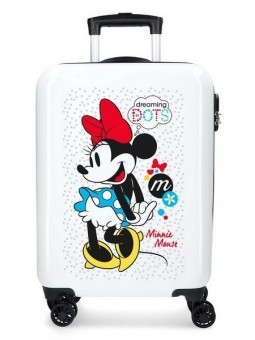 Maleta de cabina Minnie Enjoy the Day Dots