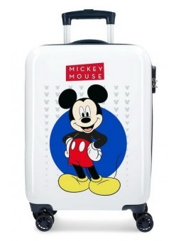 Maleta de cabina Disney Mickey Enjoy the Day Blue