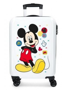 Maleta de cabina Disney Mickey Enjoy the Day Oh Boy