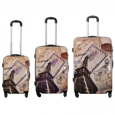 Juego de maletas de viaje París