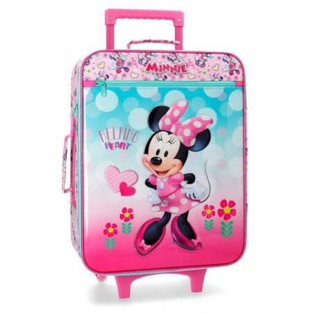 Maleta de cabina Disney Minnie Heart