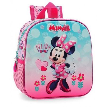 Mochila de paseo Disney Minnie Heart