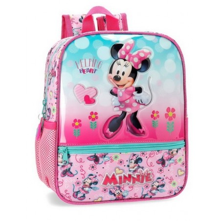 Mochila pequeña Disney Minnie Heart