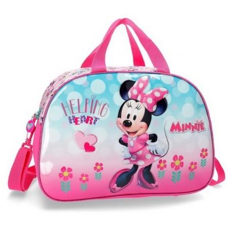 Bolso de viaje Disney Minnie Heart