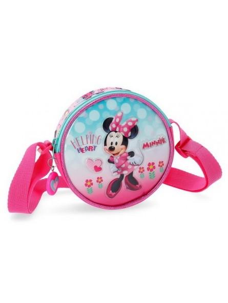 Bolso con bandolera Disney Minnie Heart