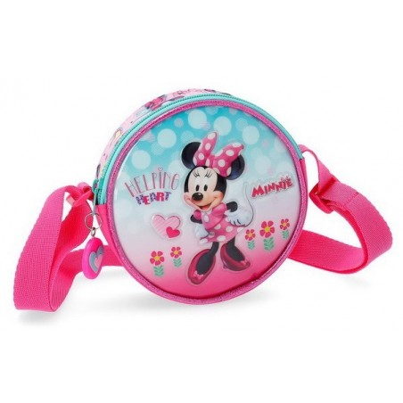 Bolso con bandolera Disney Minnie Heart