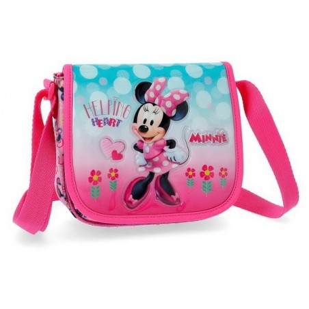 Bolso bandolera Disney Minnie Heart