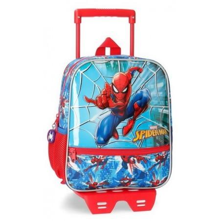 Mochila pequeña con carro Marvel Spiderman Street