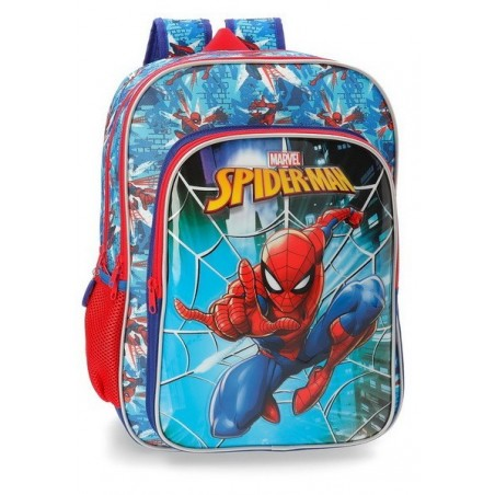 Mochila doble adaptable Marvel Spiderman Street