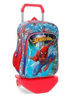 Mochila doble con carro Marvel Spiderman Street