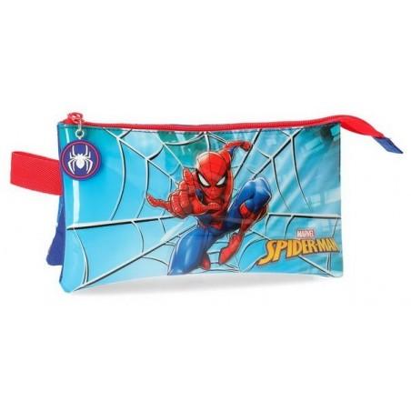 Estuche neceser triple Marvel Spiderman Street