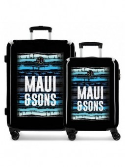 Juego de maletas Maui and Sons Waves