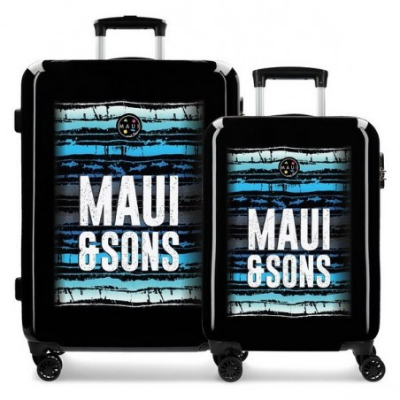 Juego de maletas Maui and Sons Waves