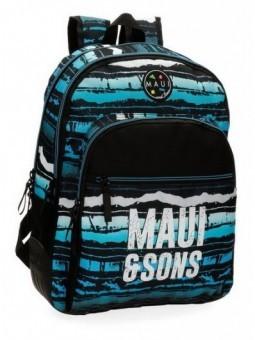 Mochila doble adaptable Maui and Sons Waves