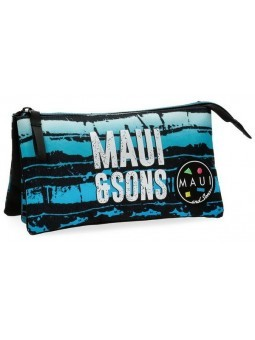 Estuche neceser triple Maui and Sons Waves
