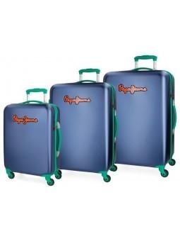 Juego 3 maletas Pepe Jeans Bristol