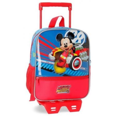 Mochila pequeña con carro Disney World Mickey