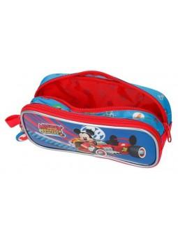Estuche neceser doble Disney World Mickey