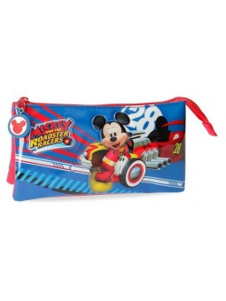 Estuche neceser triple Disney World Mickey